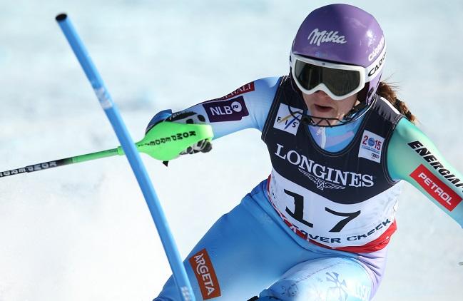 Mazejeva tokrat svetovna prvakinja v kombinaciji